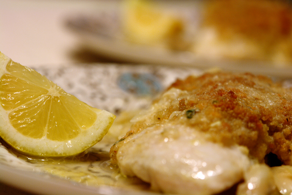 Baked Fish with Savory Bread Crumbs | Buffalo Foodie