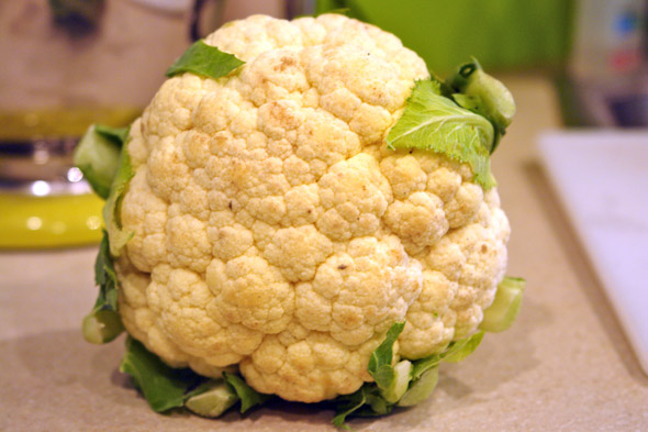 ginger soup cauliflower